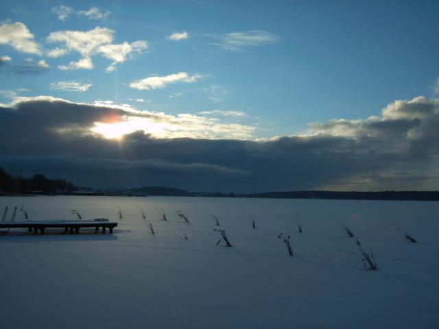So schön kann Winter sein.
