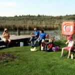 Picknick, wo bleiben die Paddler?